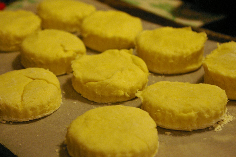 biscuits prêts à enfourner