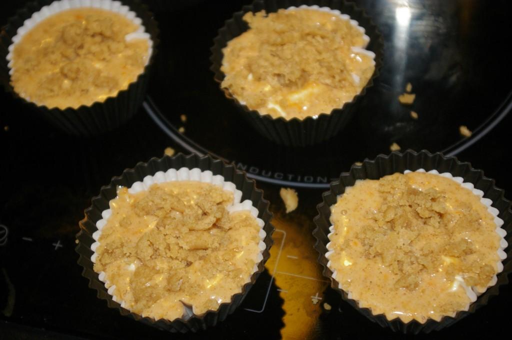 muffins prêts à cuire
