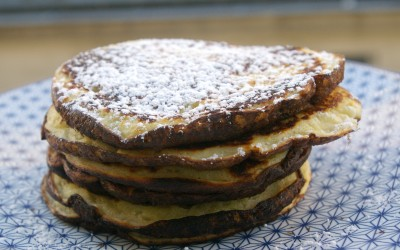 stack of buttermilk pancakes
