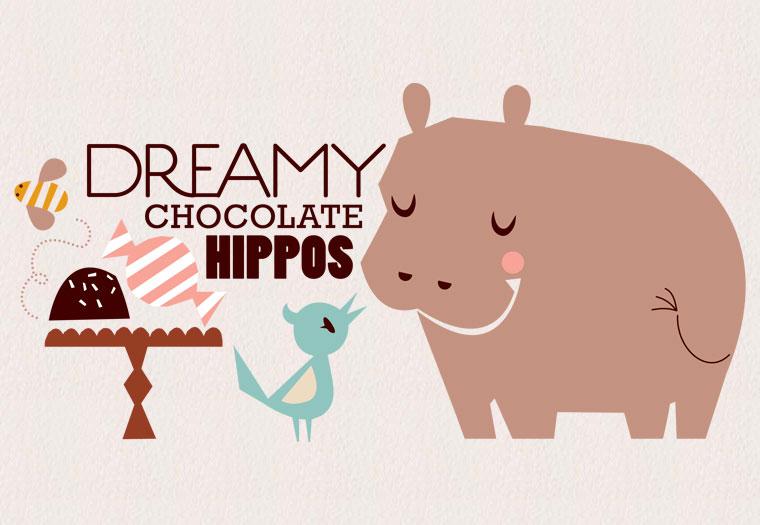 baru chocolate hippos