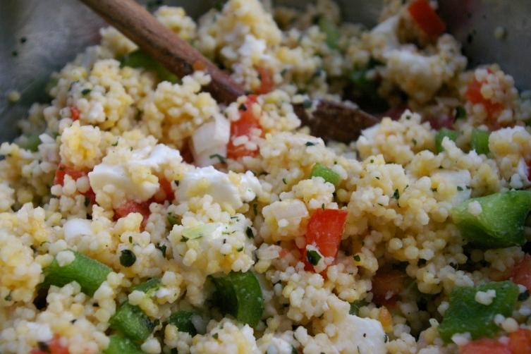 salalde de couscous geant