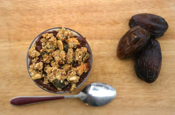 Chia chocolat cacahuètes