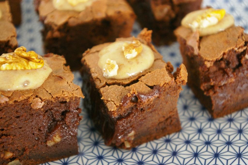 Gateau au chocolat et beurre de cacahuete
