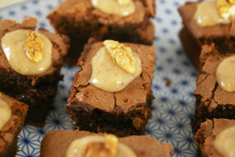 brownies choco noix