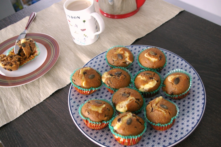muffin potiron chocolat