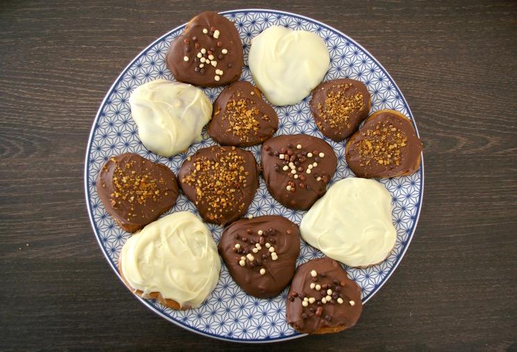 coeurs bretons caramel chocolat
