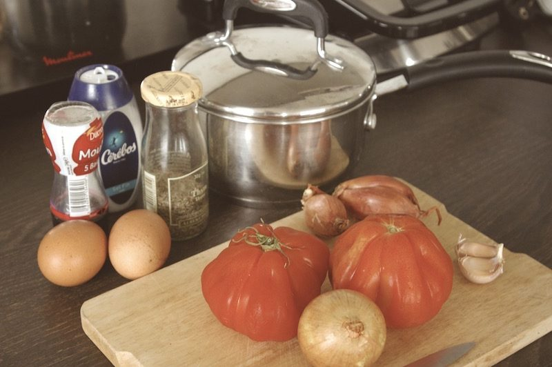 sauce tomate ingredients