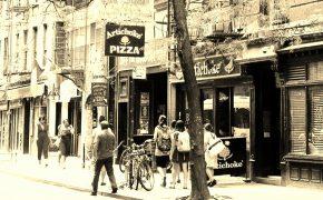 Basilles artichoke pizza village