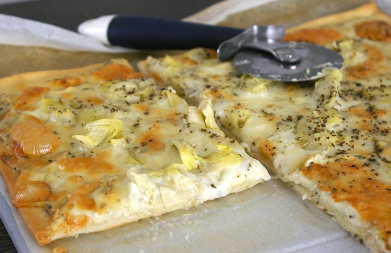artichoka pizza recette