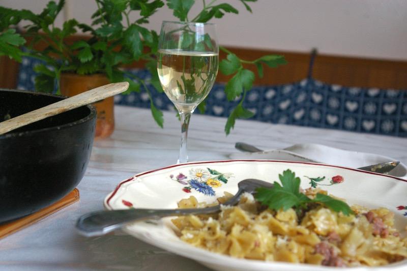 sauvignon blanc pasta